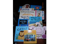 Fabulous collection of board baby's first books