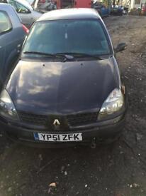 Renault Clio 1.2 petrol 2door sport 2001 mod (Breaking)
