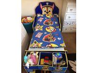 Toddler Paw Patrol Bed