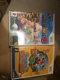 2 mario games Nintendo Wii