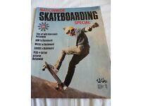 1970s Vintage Skateboarding Special Magazine