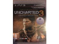 Uncharted 3 Drake's Deception PS3 Brand New Sealed