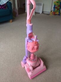 Girls pink dyson Hoover