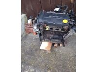 Vauxhall Corsa Engine Z12 XEP 1.2 16v for spares or repair