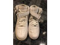Hight top Air Force size 9