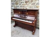 Ritmuller German Overstrung Piano, Recently Refurbished, Possible Delivery.