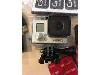 GoPro 3 Silver and accessories