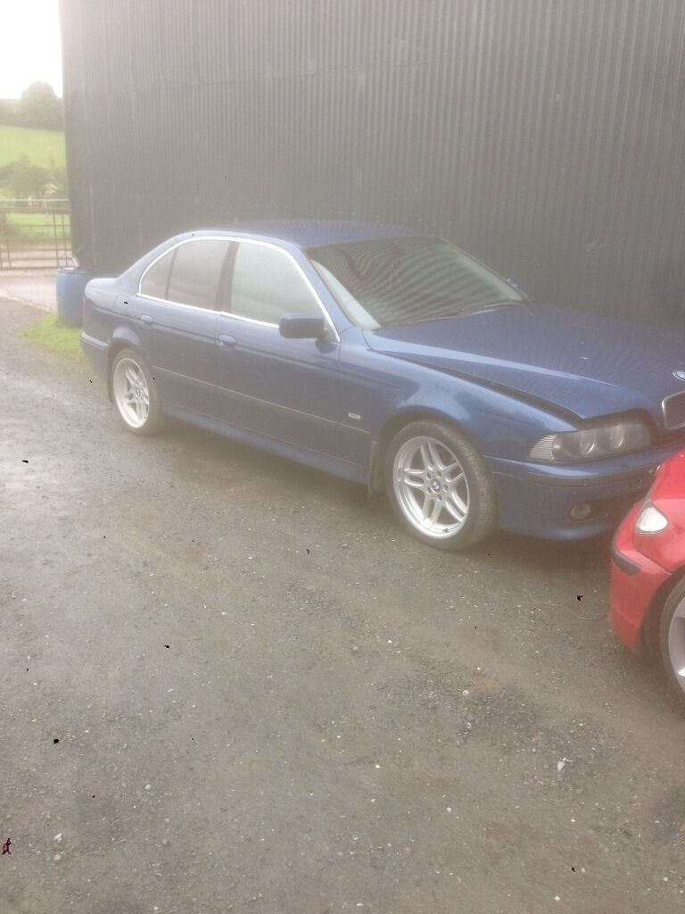 Bmw e39 530d breaking.