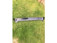 Black Honda Civic spoiler