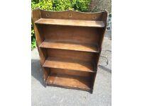 Small free standing book shelf