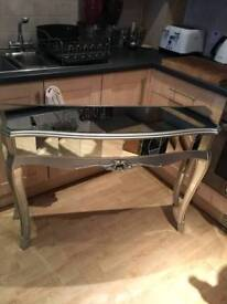 Fabulous Mirrored Console Table Brand New