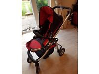 ICandy Cherry Liquorice Travel System Stroller Carrycot