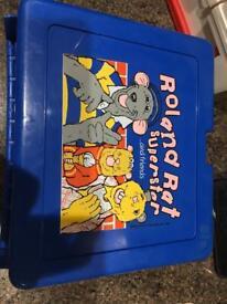 Roland Rat lunchbox
