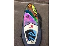 "Fatum surfboard 5,9""x 19 1/4 x 2 5/16 , plus board bag"