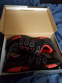 SPD bike pedals and trainers, open to offers