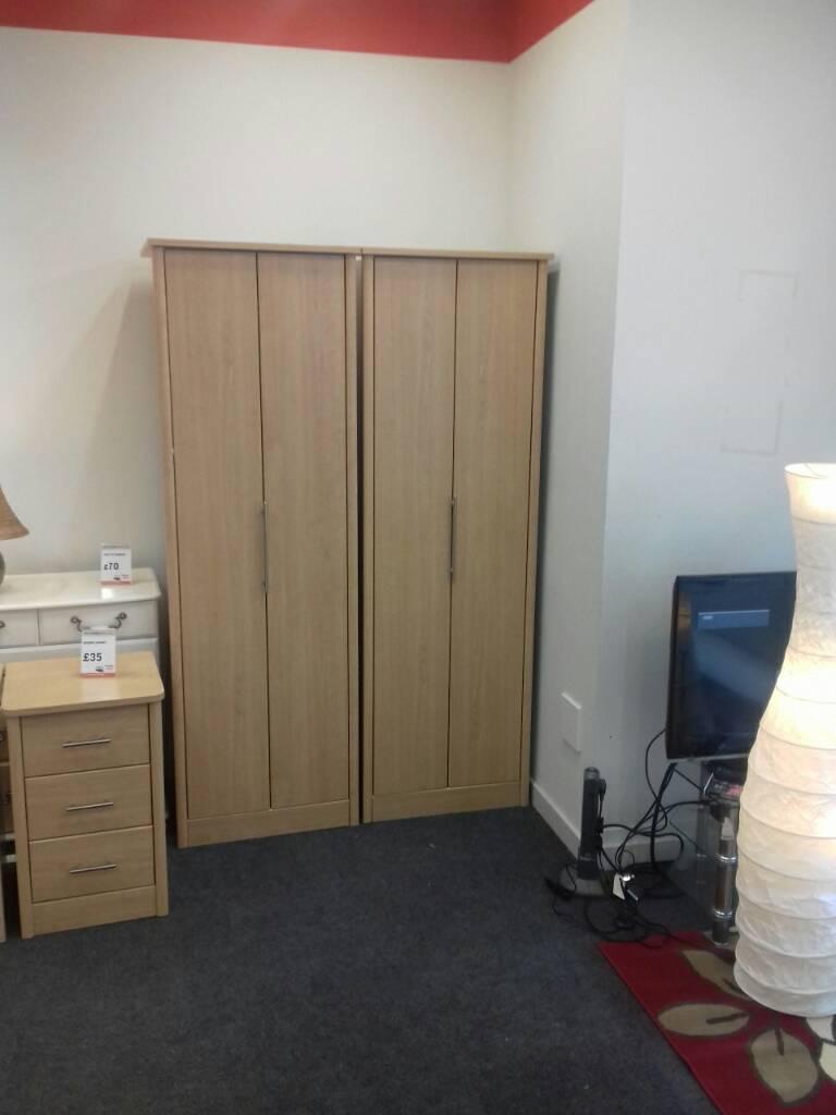 Single wardrobe set (beech)