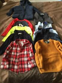 18-24m boys knitwear & hoodies