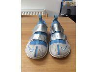 Nike Free 4.0 Trainers - Grey/Blue - Lightly worn UK 6.5
