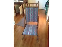 Small Folding Rocking Chair