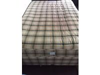 Hardly used double divan bed (storage) for sale