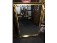 Superb Large Antique Style Decorative Carved Gilt Glass Mirror