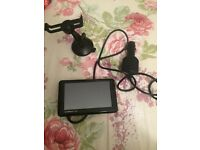 Garmin sat nav and charger