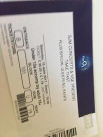 4 x Take That tickets Sat 10th June O2