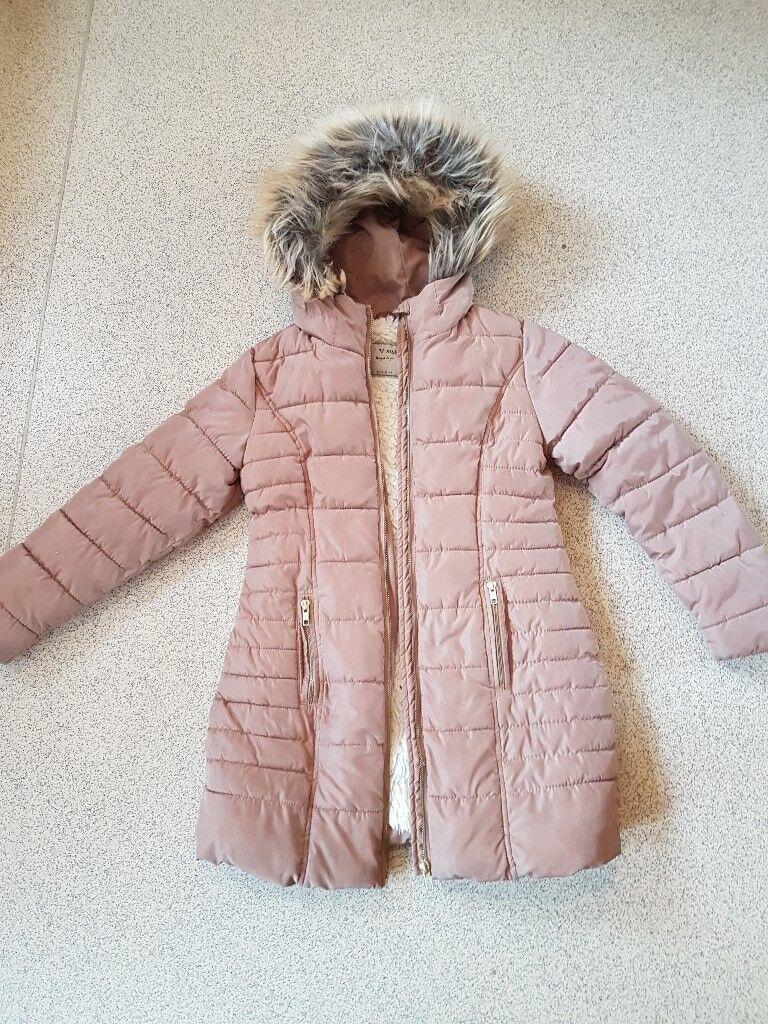 Girls next parka coat age 10