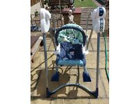 Fisher price smart stages 3 in 1 baby swing,seat,rocker
