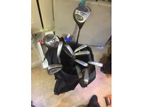 Beginners golf setup
