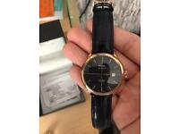 Men's Rotary rose gold watch