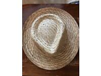 Men's natural fibre hat new