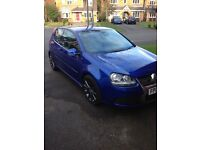 VW r32 blue 08 plate fsh with VW full leather fantastic condition
