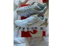 Nike TL shox size 6 (worn once)
