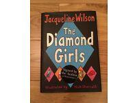 Jacqueline Wilson's Diamond Girls signed copy