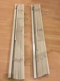 FREE - Venetian Blinds x2, working perfectly with screws