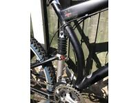 Maverick ML7 full suspension mountain bike