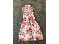 Pretty floral dress age 7 - 8 years