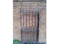 cast iron metal gate