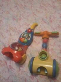 Toy vacuum cleaner x2