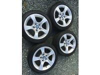 BMW Alloys alloy wheels with Bridgestone Potenza Tyres