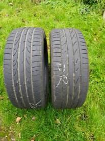 Tyres Bridgestone potenza 050A 96 w speed