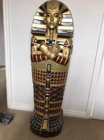 EGYPTIAN KING TUT SARCOPHAGUS STORAGE UNIT