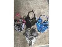 Ladies size 10 bikinis. 2 new. Ex condition