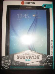 "Griffin Survivor Samsung Galaxy Tab A. 9.7"". ShockProof. WaterProof. Screen Protector. Protect Tablet. Camera"