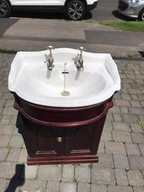 Victorian style wash hand basin