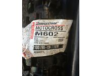 *NEED GONE*OFFERS*Motocross Tyres Bridgestone Scrambler MotoX Bridgestone crf Ktm kx 125 250