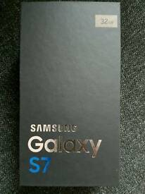 Samsung Galaxy S7 - Gold - Brand new and sealed