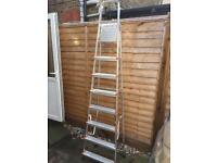 8 Step Aluminum Ladder