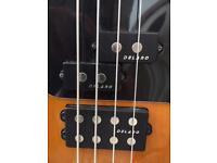 Sandberg 4 string bass